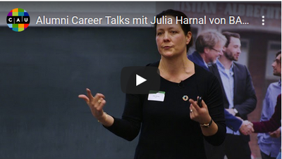 Alumni Video mit Julia Harnal von BASF