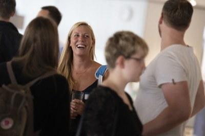 Studentin bei Alumni-Career-Veranstaltung