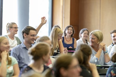 Publikum beim Alumni-Career-Talk