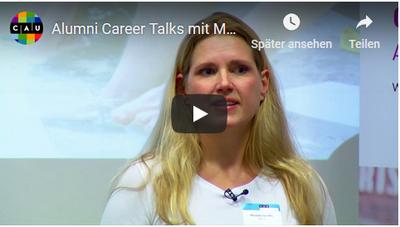 Alumni-Video mit Mareike Gerdes (XING SE)