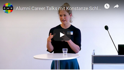 Alumni-Video mit Dr. Konstanze Schlegelberger von Axel Springer