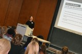 Konstanze Reith bei den Junior Alumni Career Talks