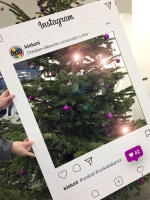 Christmas Tree with Instagram Frame