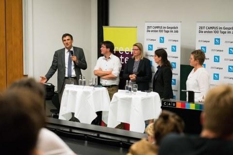 Panel über Berufseinstieg